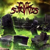 "Evil Survives - Powerkiller - 12"" LP"